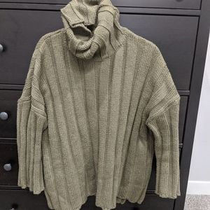 Zara Soft Feel Oversized Sweater